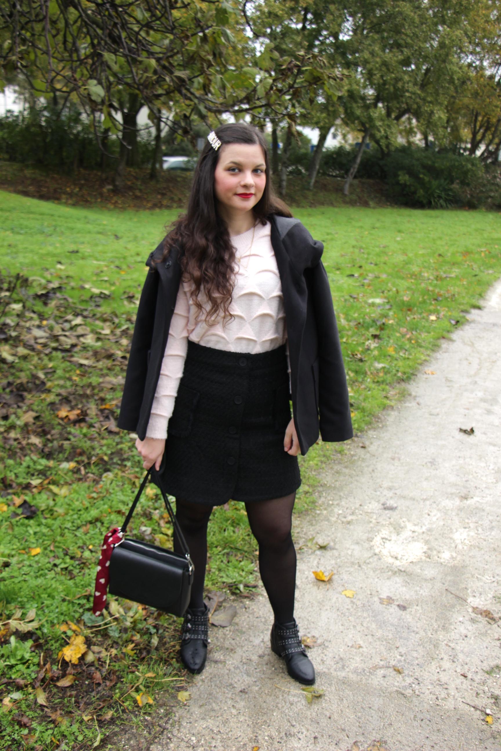 look-dhiver-rose-et-noir-blog-mode-la-rochelle-2