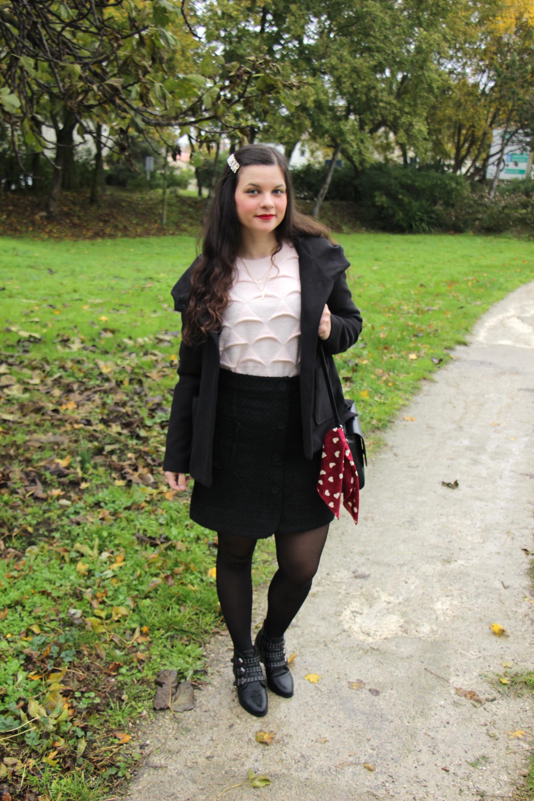 look-dhiver-rose-et-noir-blog-mode-la-rochelle-1