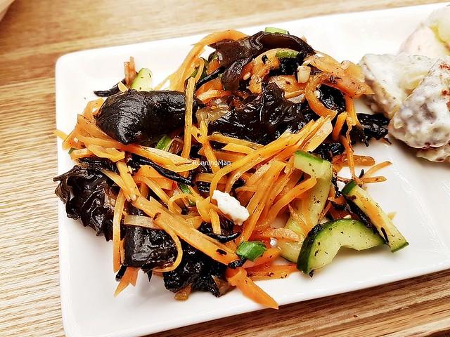 Black Fungus Hijiki Salad