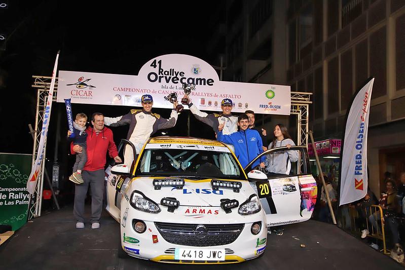 III Copa Adam DISAmax  en el Rally Orvecame Isla de Lanzarote