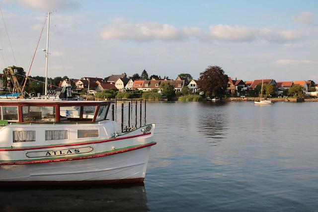 Schleswig: Barkasse MS ATLAS für Hafenrundfahrten