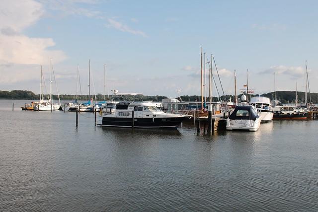 Schleswig: Jachthafen an der Schlei