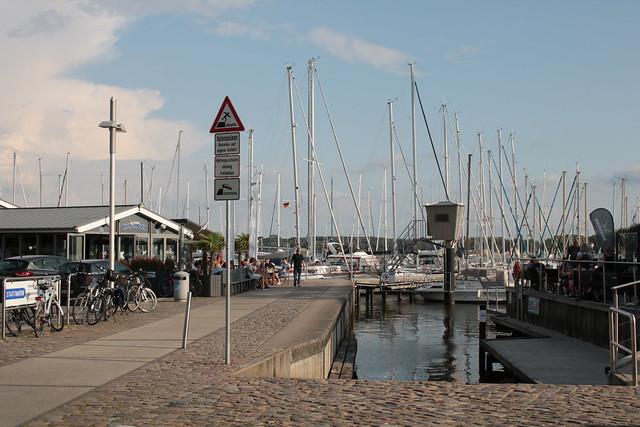 Schleswig: Stadthafen an der Schlei