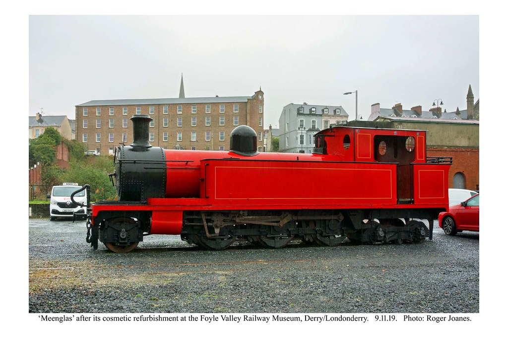 Derry - Londonderry. 'Meenglas' refurbished. 9.11.19