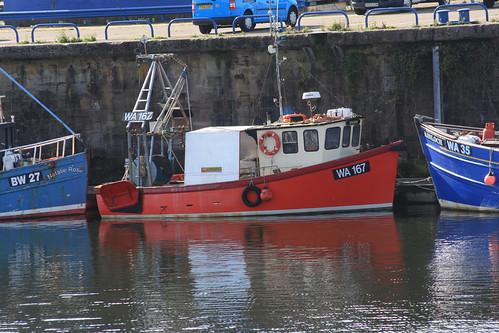 Fishing Boat WA167 GRACIOUS Whitehaven