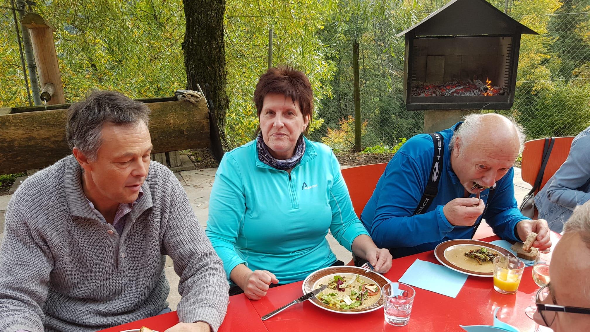 Grillplausch bei Heidy und Fredy. Oktober 2019