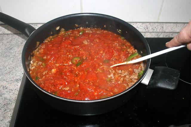 12 - Verrühren & aufkochen lassen / Stir & bring to a boil