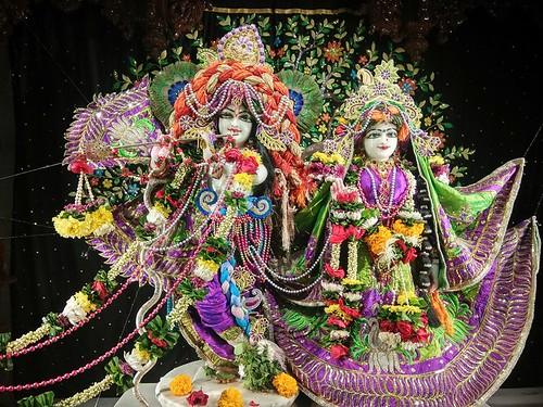 ISKCON Rajkot Deity Darshan 01 Dec 2019