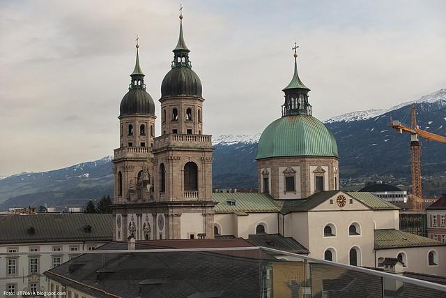 Jesuitenkirche vom Haus der Musik