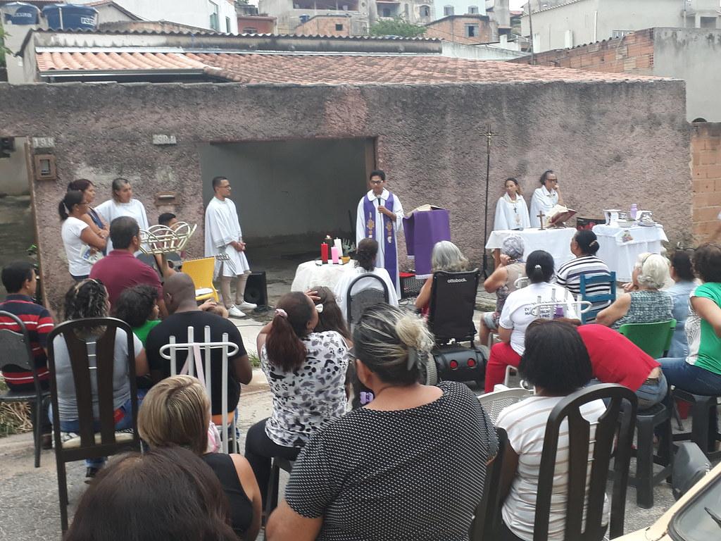 Missa Campal na Rua Andaraí