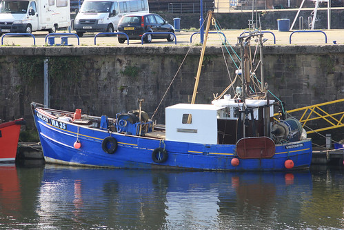 Fishing Boat WA35 KINLOCH Whitehaven
