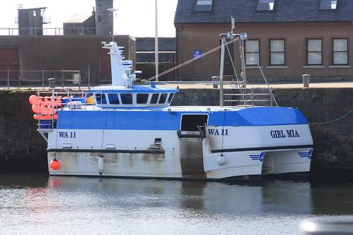 Fishing Boat WA11 GIRL MIA Whitehaven