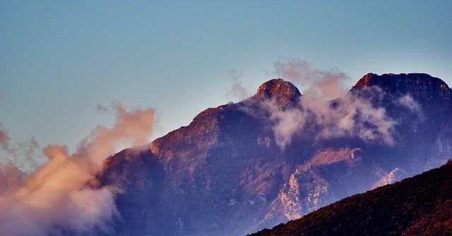 Sunset on Mt. Mai