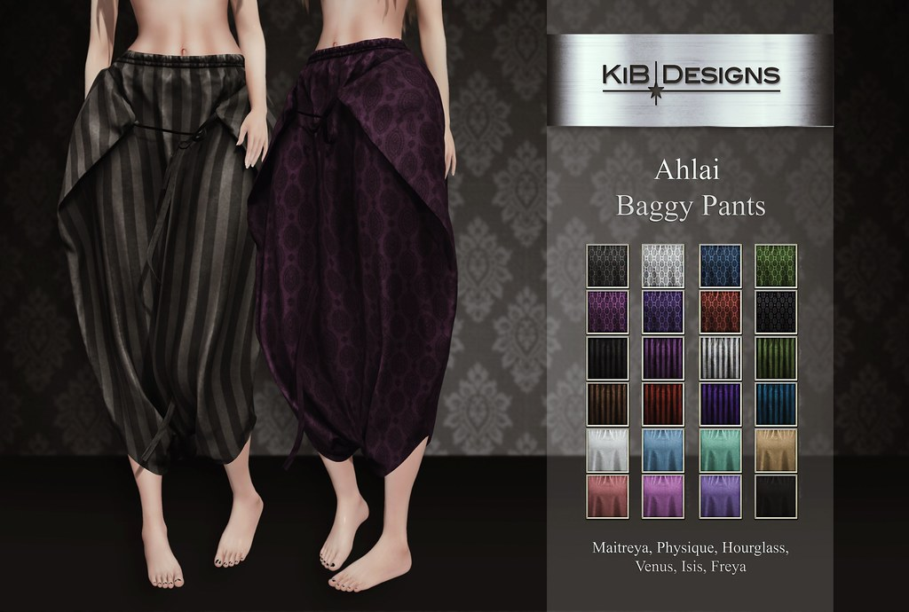 KiB Designs – Ahlai Baggy Pants @Darkness Event