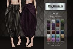 KiB Designs - Ahlai Baggy Pants @Darkness Event