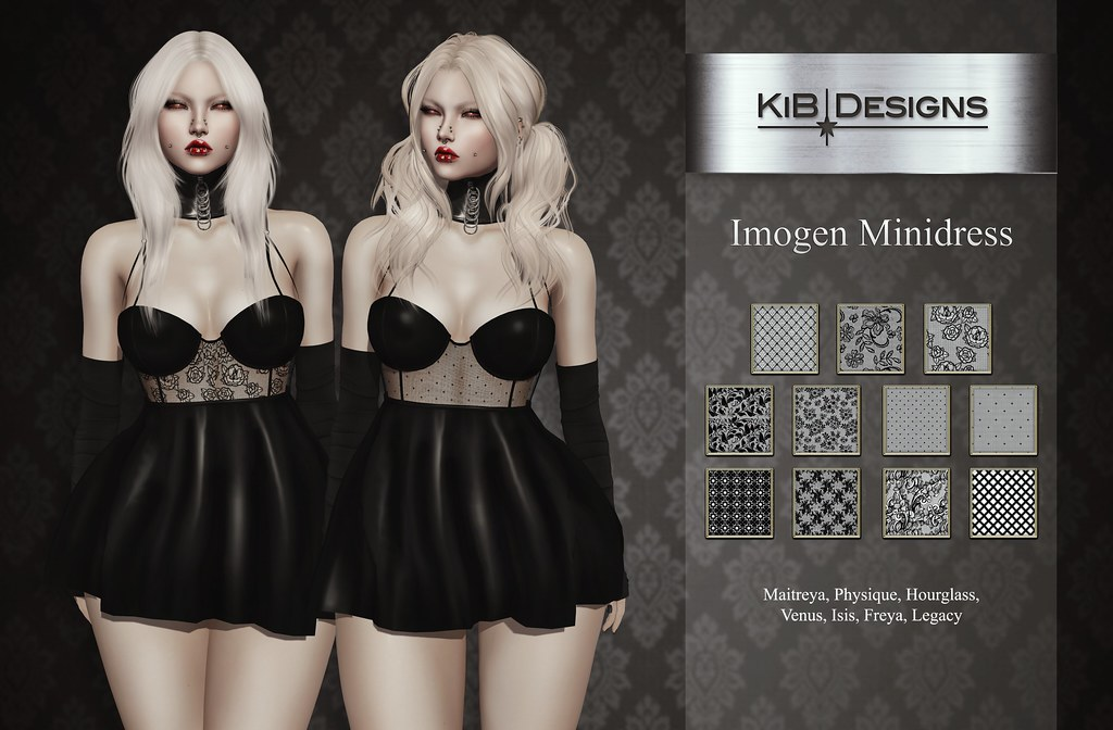 KiB Designs – Imogen Minidress @Darkness Event