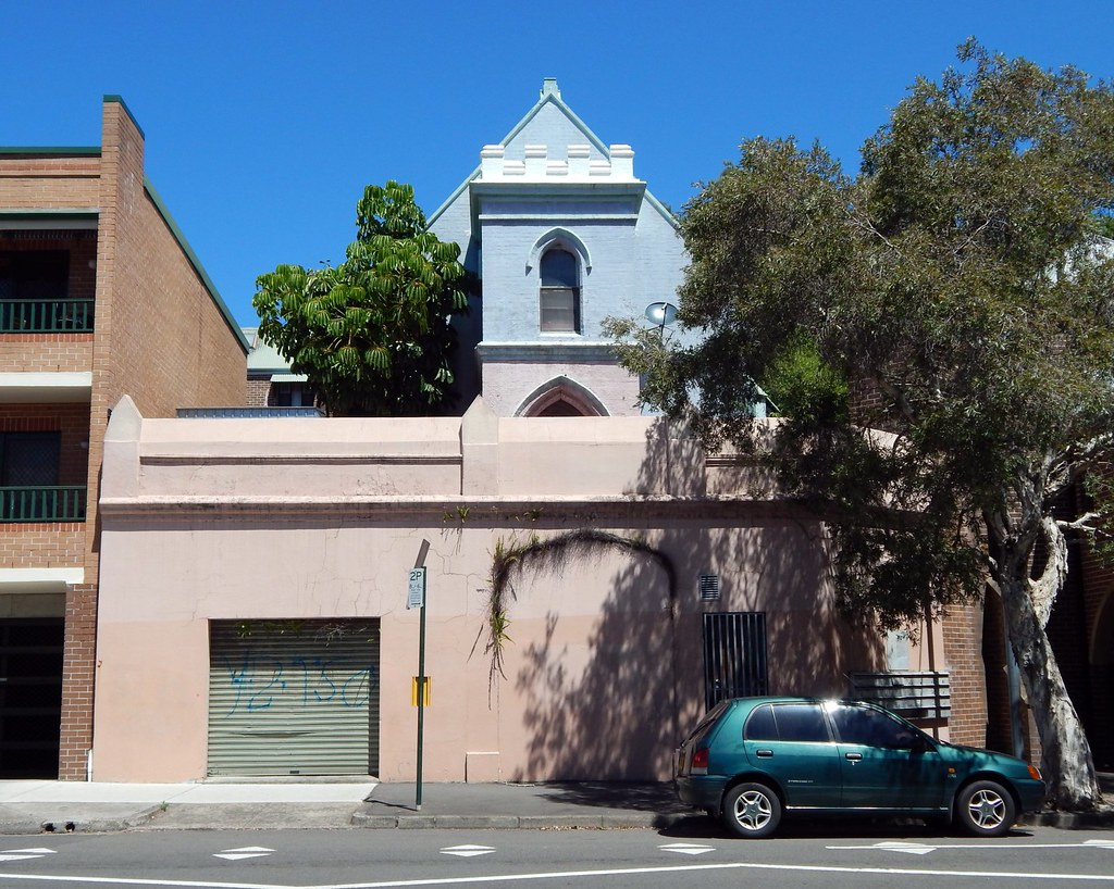Ex Church, Waterloo, Sydney, NSW.