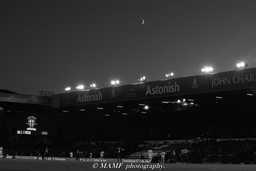 Astonishing moonlight.