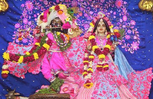ISKCON Delhi Deity Darshan 01 Dec 2019