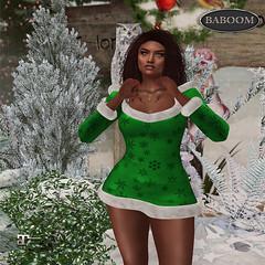 Baboom X-Mas spezial-green
