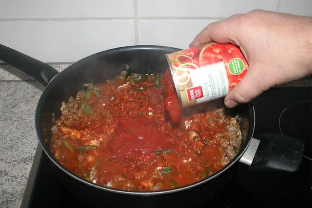 11 - Tomaten addieren / Add tomatoes