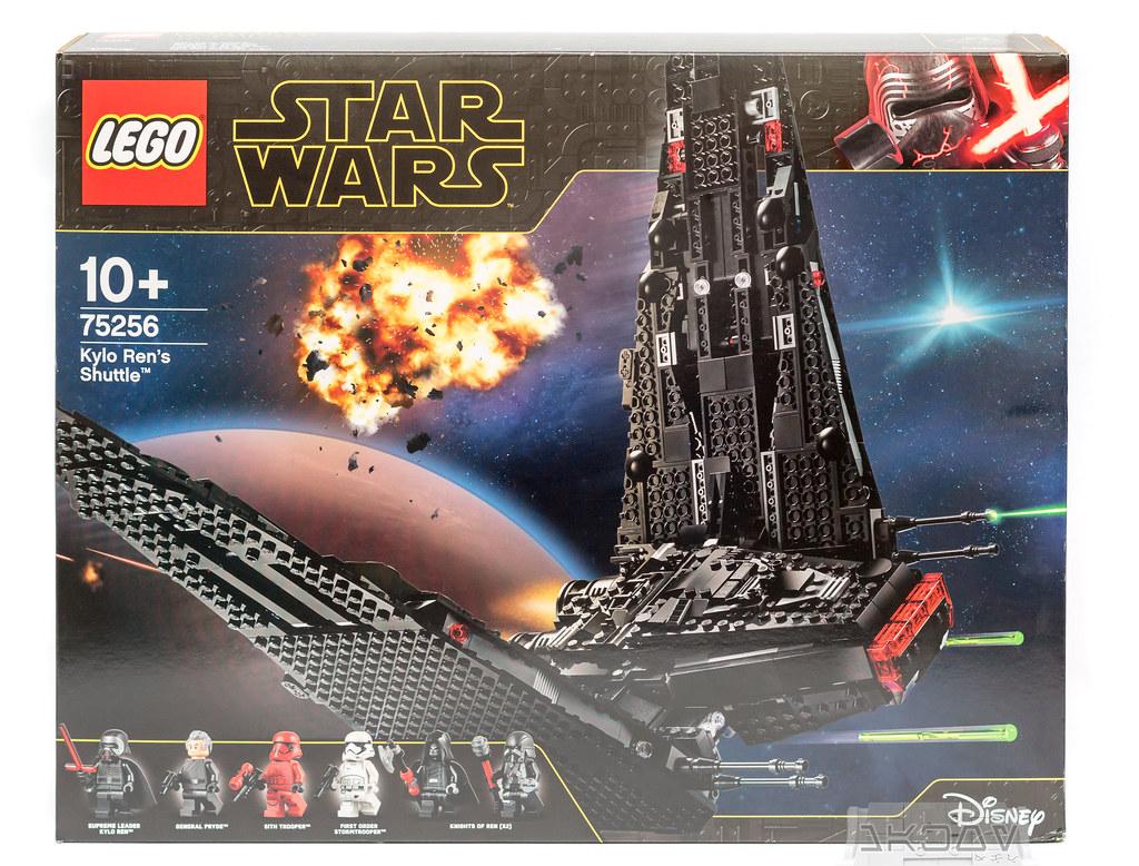 Review 75256 Kylo Ren S Shuttle Lego Star Wars Eurobricks Forums
