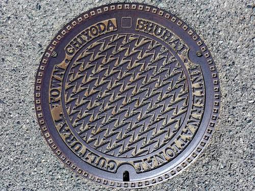 Chiyoda Hiroshima, manhole cover (広島県千代田町のマンホール)