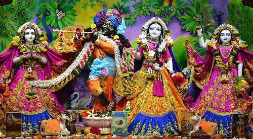 ISKCON Nasik Deity Darshan 01 Dec 2019