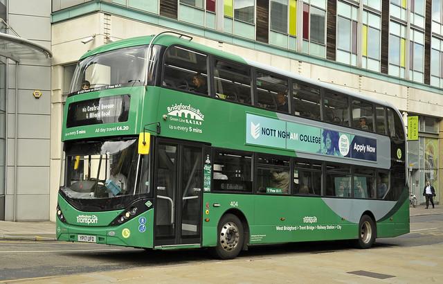 YP17UFD Nottingham City Transport 404