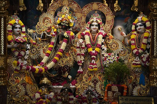 ISKCON Ujjain Deity Darshan 01 Dec 2019