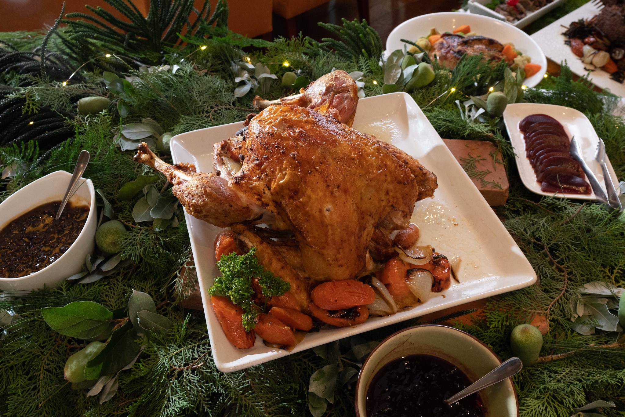 Christmas Stuffed Turkey