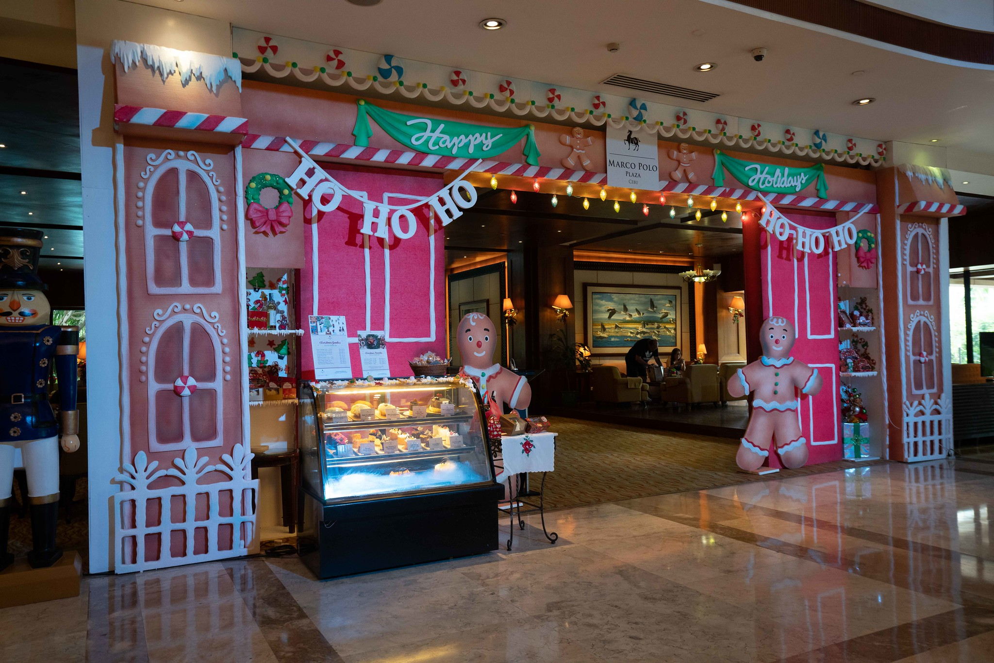 Christmas House of Goodies at the Lobby Lounge