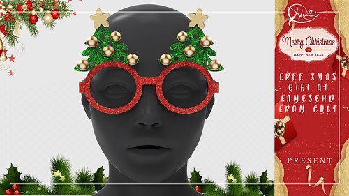 : CULT : Xmas Tree Glasses