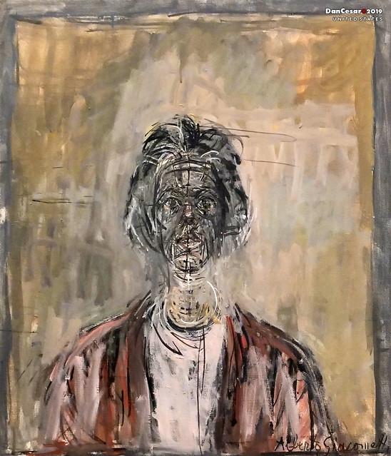 Annette, 1961, Alberto Giacometti, 1901-1966