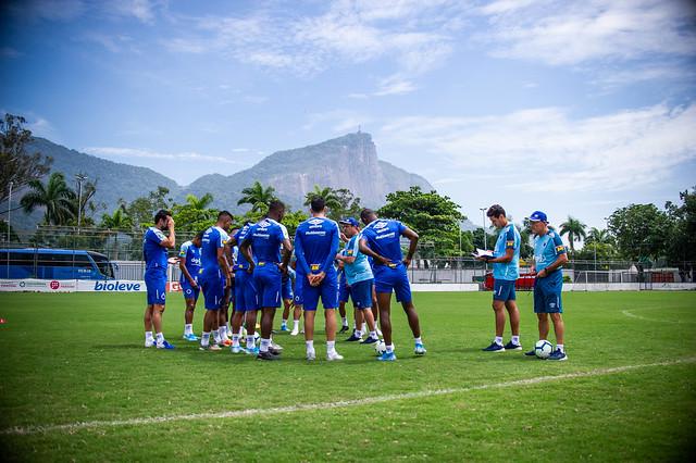 Treino do Cruzeiro - 01/12/2019