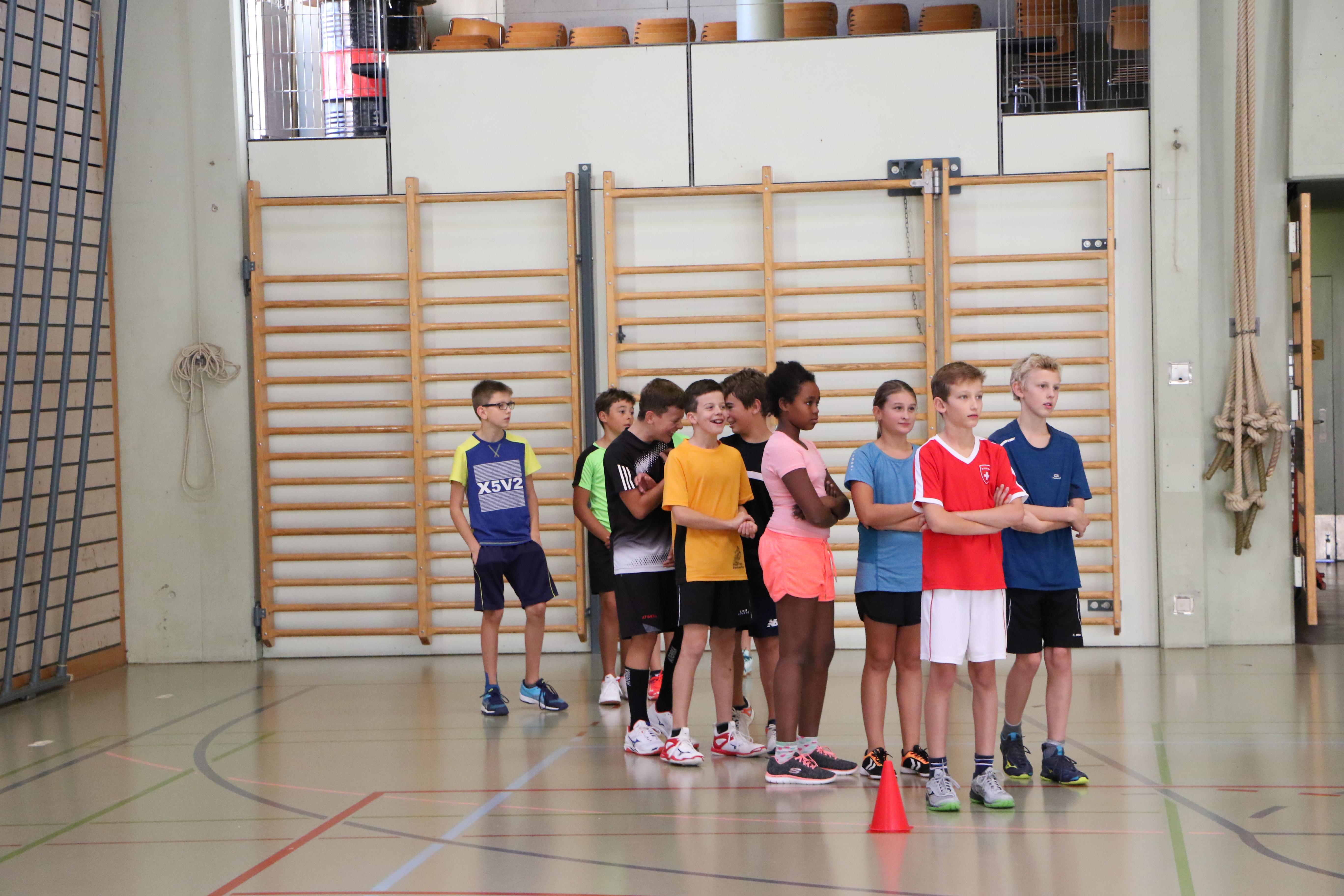 Trainingslager 2019 Le Sentier U13 / FU14