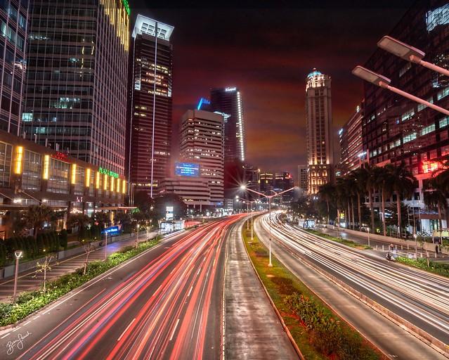 Night Lights Jakarta