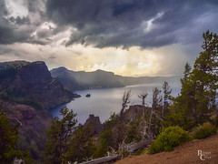Summer Storm Over Crater Lake