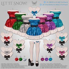 [Ari-Pari] Let-It-Snow Gacha Key