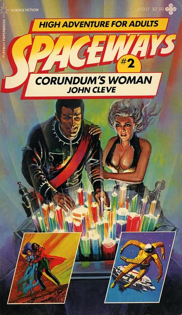 Playboy Paperbacks 21037 - John Cleve - Corundum's Woman