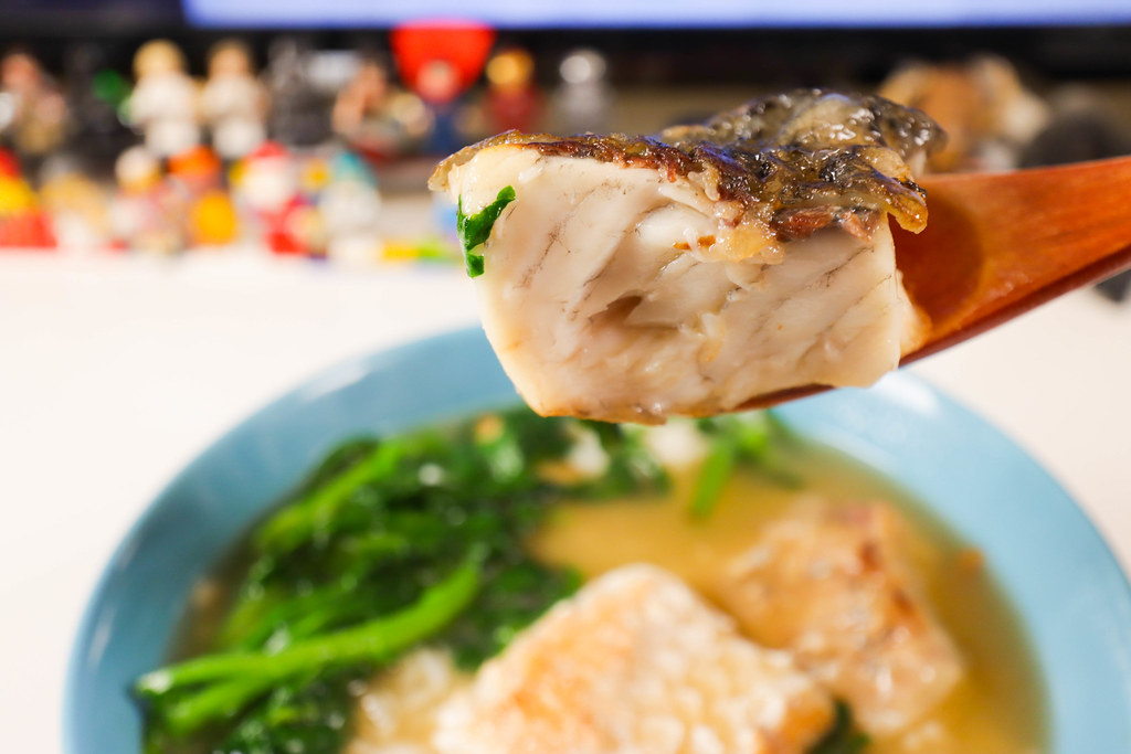 金目鱸魚排 魚肉