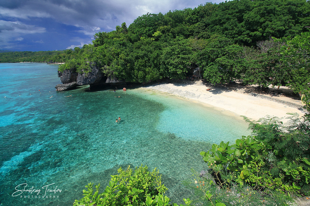 the southern section of Salagdoong Beach, Maria, Siquijor