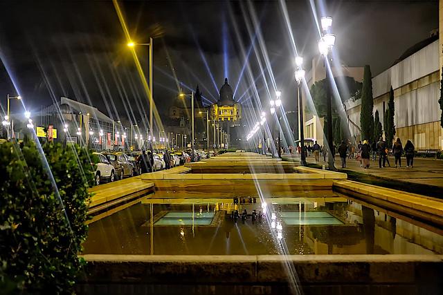 Way to the magic fountain