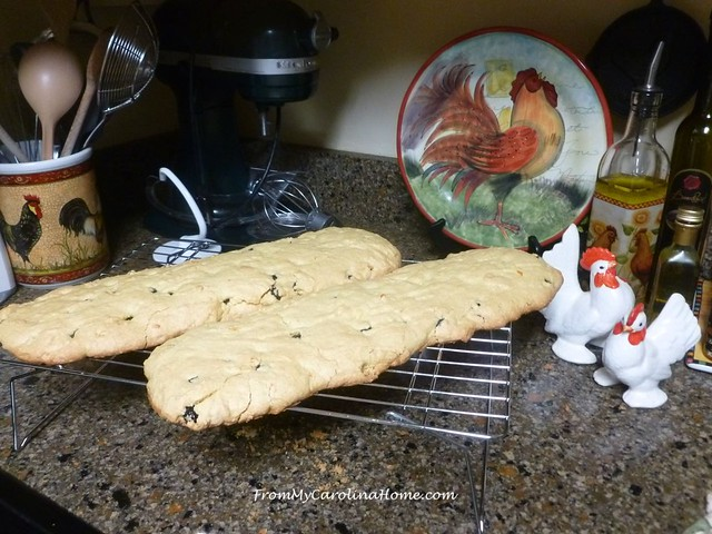 Orange Amaretto Biscotti at FromMyCarolinaHome.com