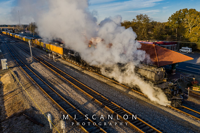 UP 4014 | Steam 4-8-8-4 | UP Little Rock Subdivision