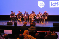 IDFA Amsterdam - Q&A after the Sudanese documentary Talking About Trees