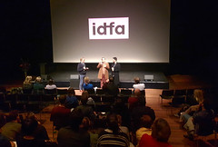 IDFA Amsterdam, Q&A after the documentary Midnight Traveler
