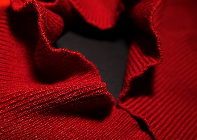 Red turtleneck  - 341