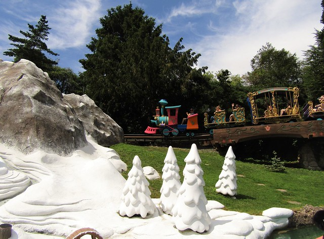 The Casey Jr. Attraction in Disneyland Paris
