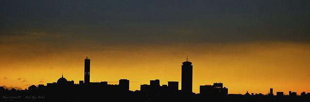 Boston at daybreak